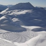 Crop Circles Snow Art