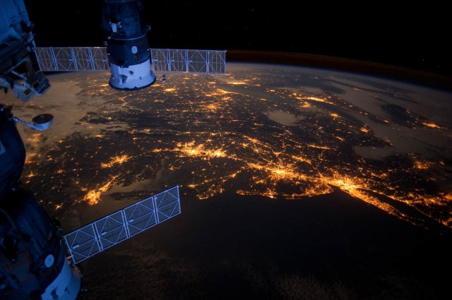 Eastern Coast of the USA from ISS- Expedition 30
