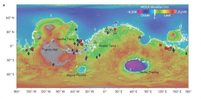 ESA's Mars Express evidence for an ocean on Mars