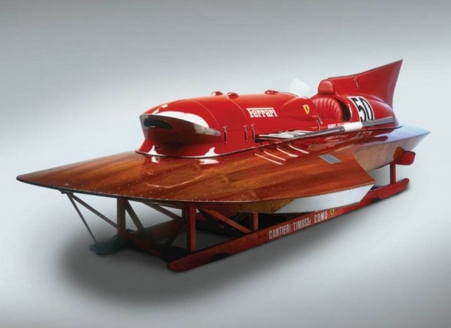 Ferrari hydroplane Arno XI racing boat for sale