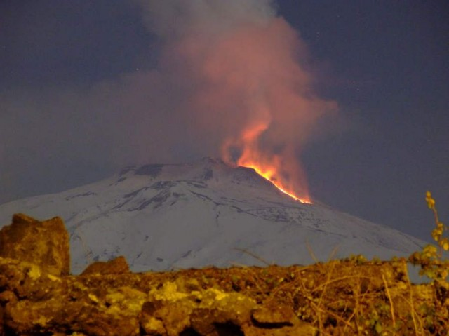 Fire and Ice of Mount Etna