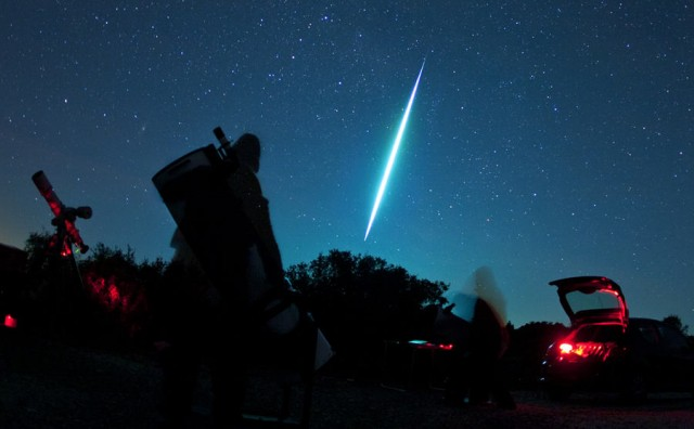 Fireball Over Corfu