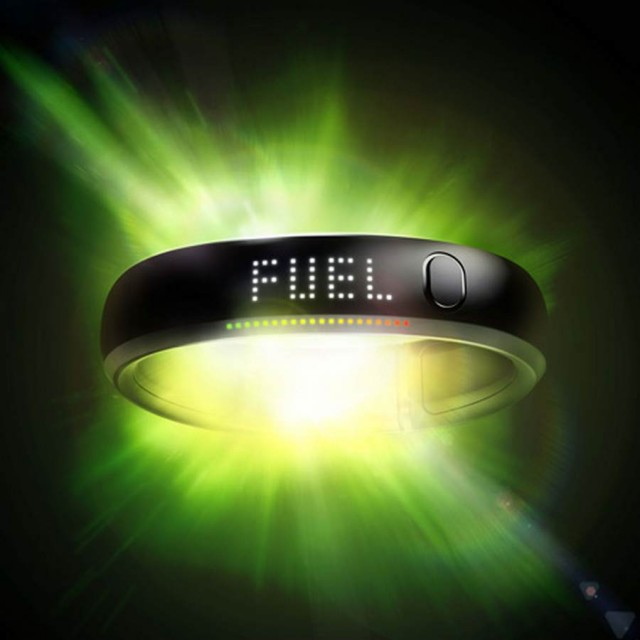 FuelBand sports wristband by Nike