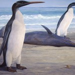 Giant Prehistoric Penguins