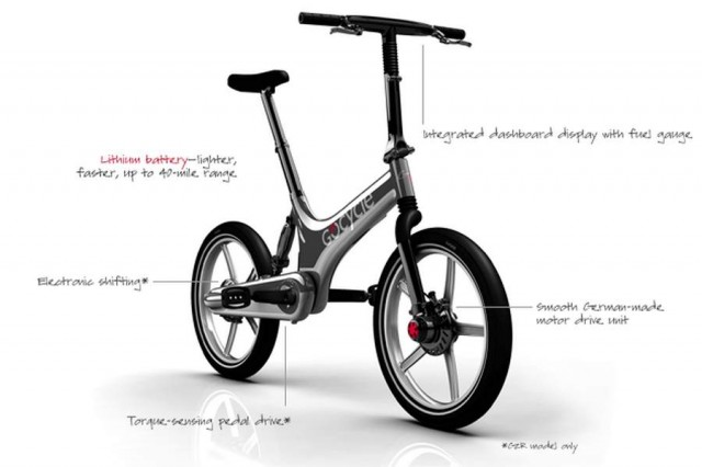 Gocycle G2 folding electric bicycle (6)