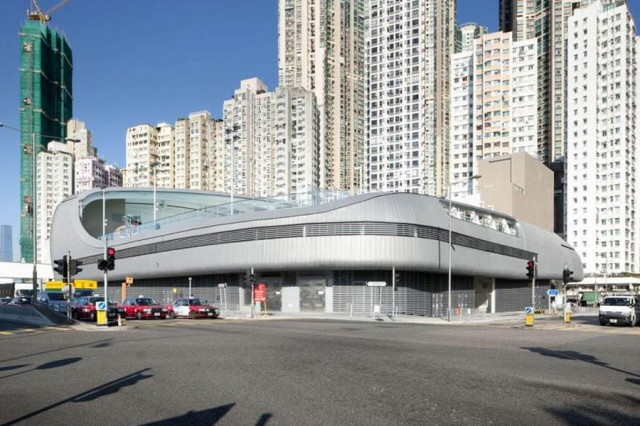 Kennedy Town swimming pool by Terry Farrell