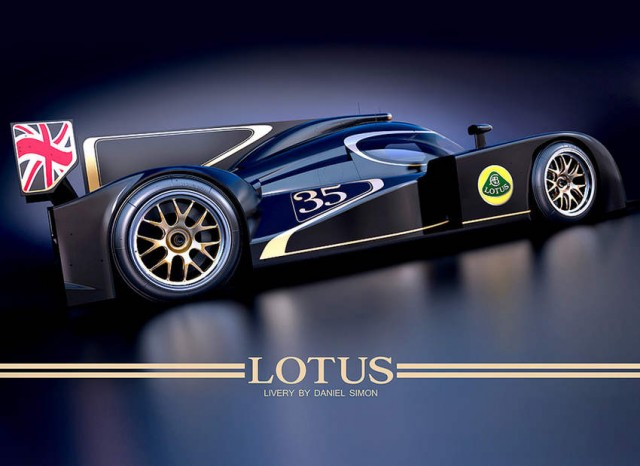 Lotus headed to Le Mans with Lola Lola LMP2