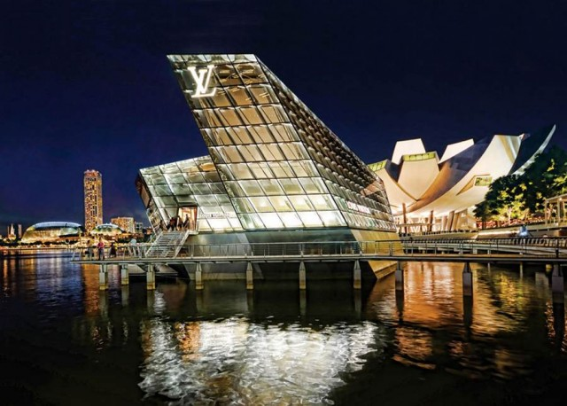 Louis Vuitton Island Maison by Moshe Safdie and Peter Marino