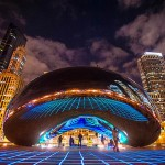 Luminous Field in Millennium Park (video)