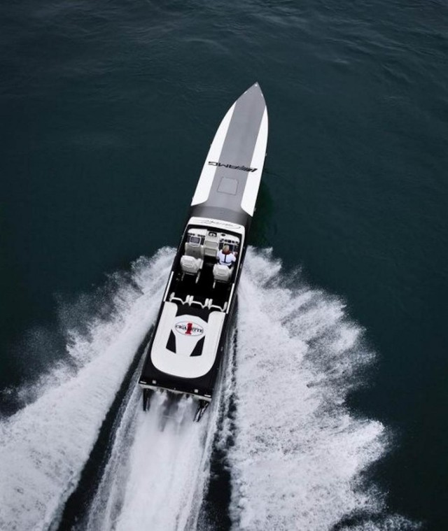 Black Series 50′ Marauder Cigarette Boat