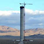 Massive Solar Power Tower in Nevada