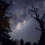 Milky Way viewed from Reunion Island