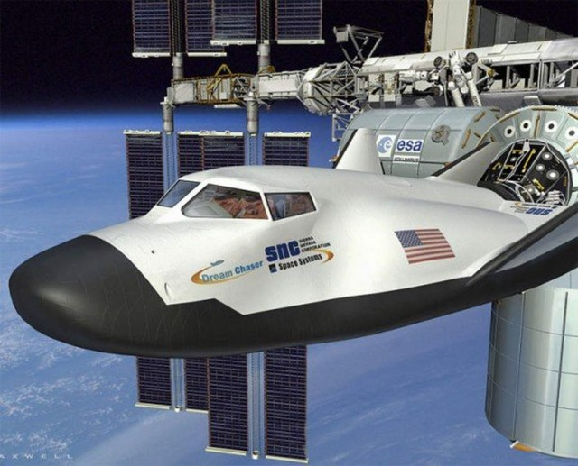 Dream Chaser -NASA's Commercial Crew Integrated Capability- CCICap- program