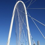 New Bridge in Dallas by Santiago Calatrava