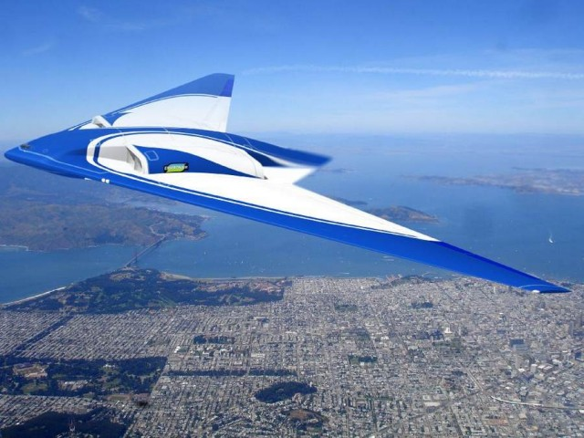 Northrop Grumman flying wing aircraft concept