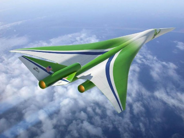 Lockheed Martin supersonic concept
