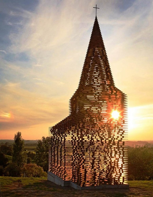 Reading between the Lines- Transparent Church by Gijs Van Vaerenbergh