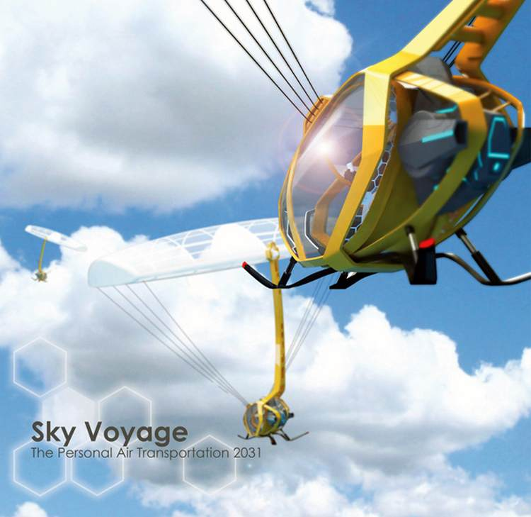 Sky Voyage aircraft concept (6)