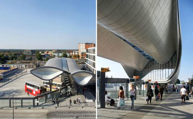Slough Bus Station by Bblur Architecture