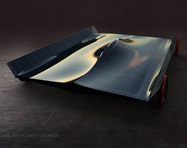 SPV- Solar Powered vehicle by Omer Sagiv