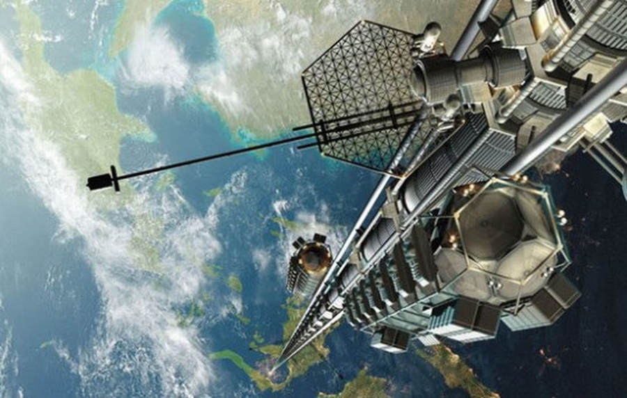 Space Elevator made in Japan by 2050
