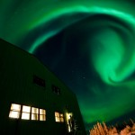 Swirling Aurora by Jason Ahrns