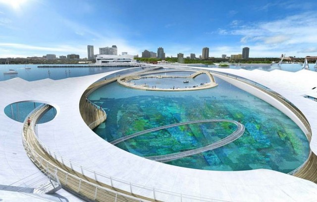 The Lens by Michael Maltzan Architecture wins St.Petersburg Pier competition (4)