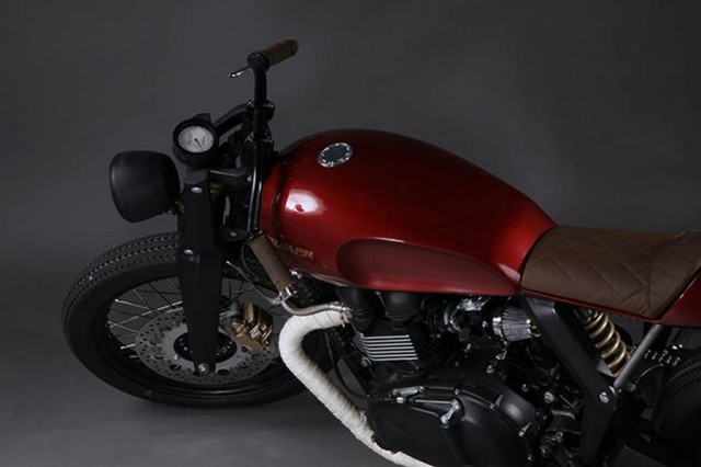Triumph Speed Twin by Xenophya