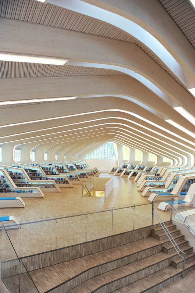 Vennesla Library & Cultural Centre by Helen & Hard (3)