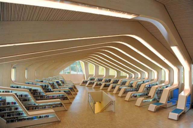 Vennesla Library & Cultural Centre by Helen & Hard (1)