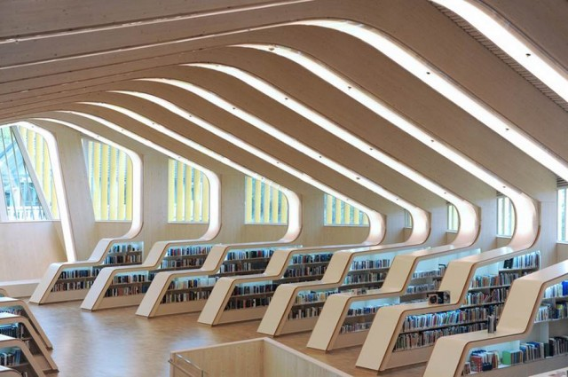 Vennesla Library & Cultural Centre by Helen & Hard (7)