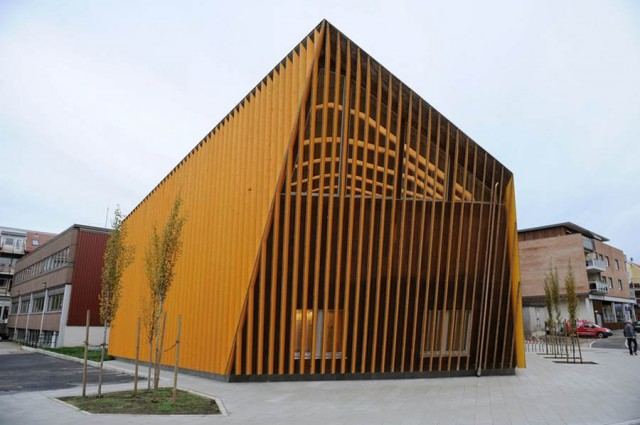 Vennesla Library & Cultural Centre by Helen & Hard (6)