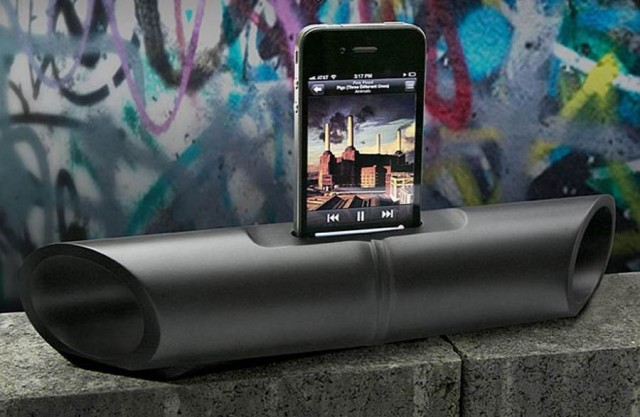 iBamboo Urban Speaker Dock by Triangle Tree