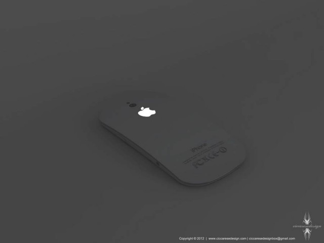 iPhone 5 concept by Federico Ciccarese