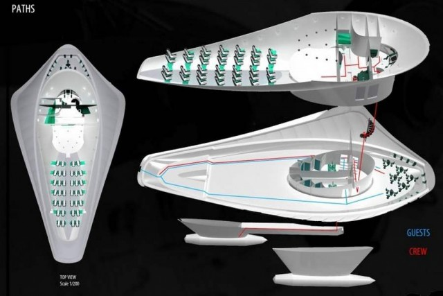 Allochroous- Dream Boat winner of the 9th Millennium Yacht Design Award (1)