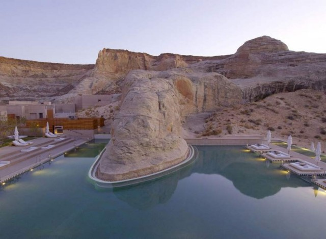 Amangiri Luxury Desert Resort Hotel (2)
