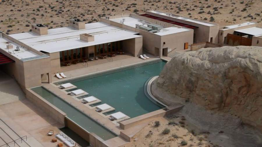 Amangiri luxury desert resort hotel wordlesstech for Design hotel utah