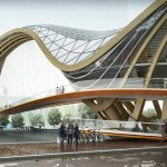 An inhabitable bridge for Amsterdam