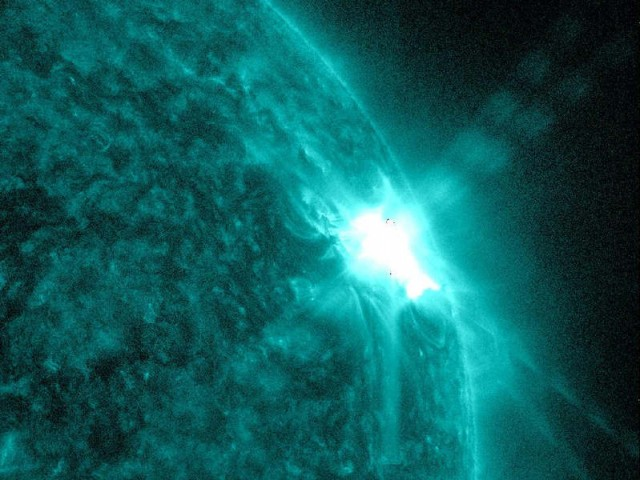 AR 1429 Biggest sunspot region in years