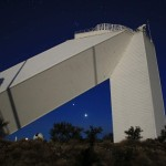 Bright Planets at Solar Telescope