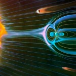 Earth's magnetic field is protecting us