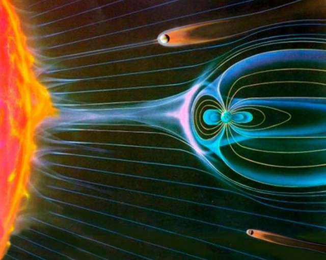 Earth s magnetic field is protecting us