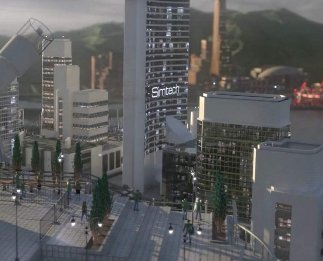 Fifth edition of SimCity 3D multi-player world