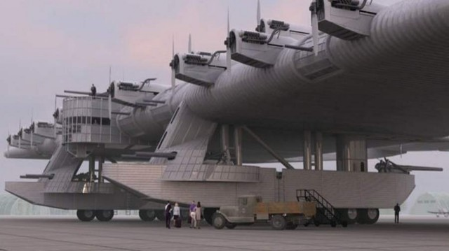 Giant Russian K-7 flying fortress