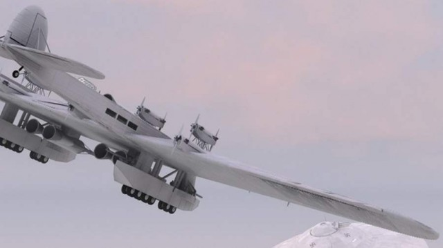 Giant Russian K-7 flying fortress (1)