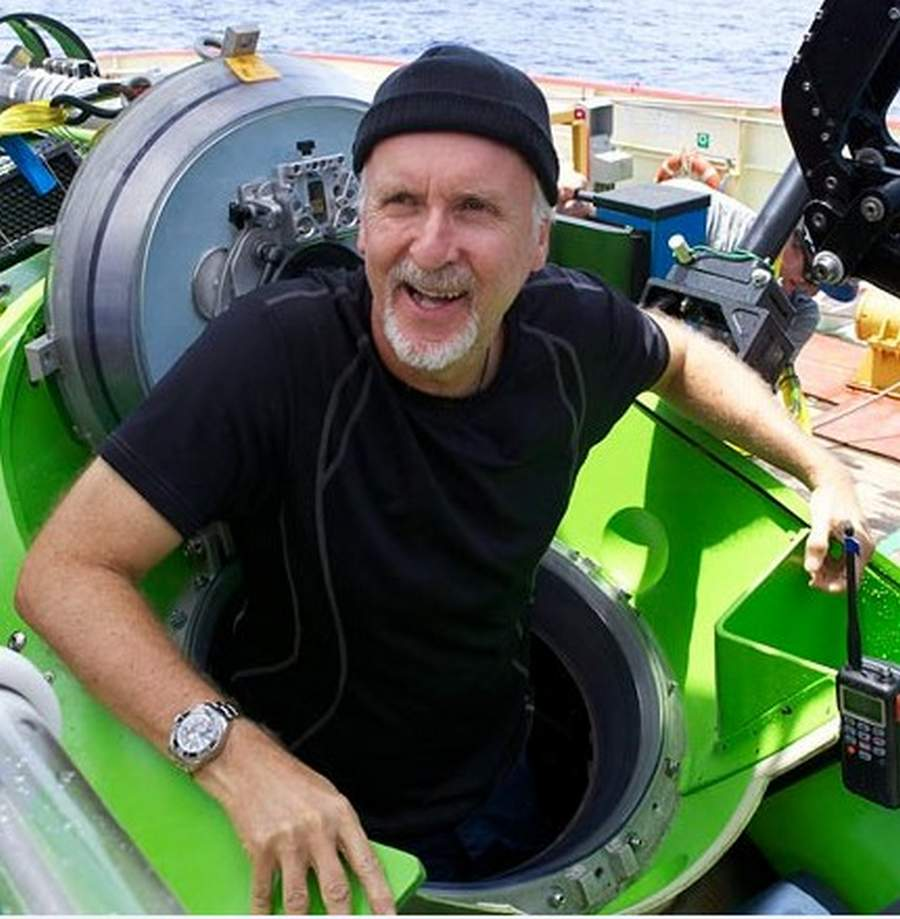 James Cameron Returns After Deepest Solo Dive Ever