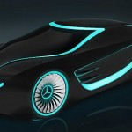 Mercedes - Tron concept car