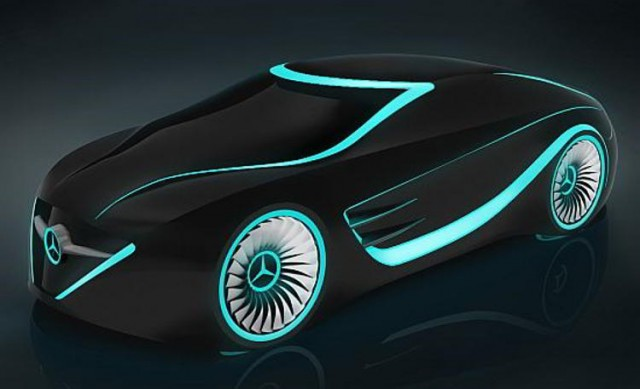 Mercedes - Tron concept car (6)