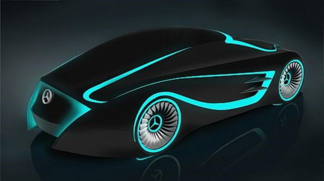 Mercedes - Tron concept car (4)