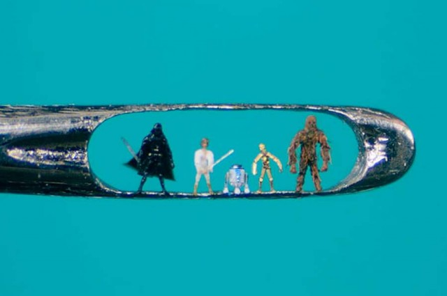 Micro sculptures by Willard Wigan (1)